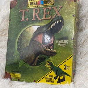Brand new build your own T-Rex model